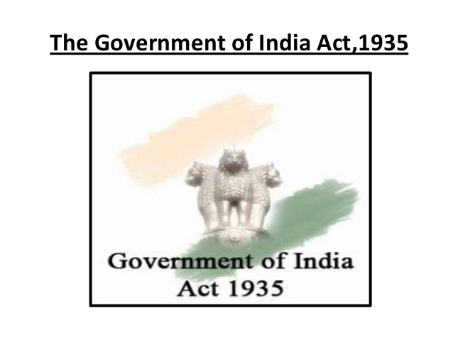 Government of India Act 1935, as amended