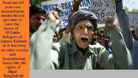 PLIGHT OF WEST-PAKISTAN REFUGEES IN J&K IS A BLOT ON INDIAN DEMOCRACY