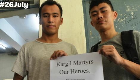 कारगिल विजय दिवस पर संदेशों की बौछार