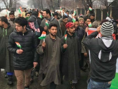 Republic Day: Kashmiri youth pay homage to martyred soldiers at EDI, Pampore