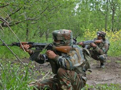 पाकिस्तानी आतंकियों  ने  कश्मीर घाटी में टेके घुटने।