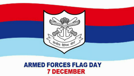 On Armed Forces Flag Day honour the nation's Soldiers, Sailors and Airmen