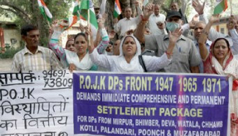 Between the largest Democracy and Terrorist state: An anecdote of the displaced persons of POJK and violation of their human rights