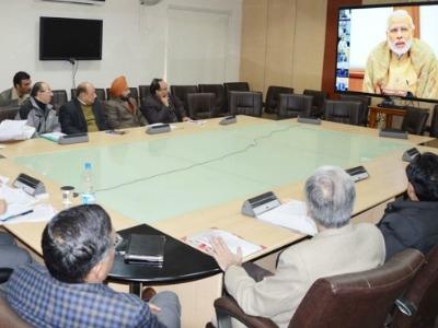 J&K: पीएम नरेंद्र मोदी ने वीडियो कांफ्रेंस से जानी तरक्की की रफ्तार