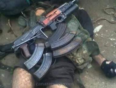 Sabzar Ahmad, Hizbul terrorist-in-charge in Kashmir hunted down
