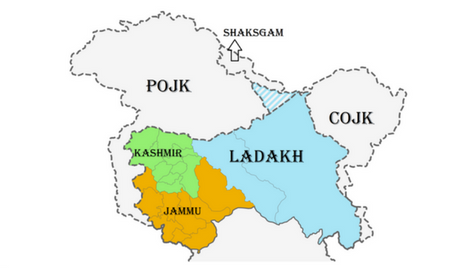 मीरपुर मुज्जफराबाद और गिलगिल बाल्टिस्तान - जम्मू कश्मीर का वह हिस्सा राज्य के नक्शे में है लेकिन भारतीय जनता के जेहन में नहीं !!!!!