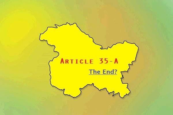 Article 35A- A clear example of subversion of democratic credentials of India