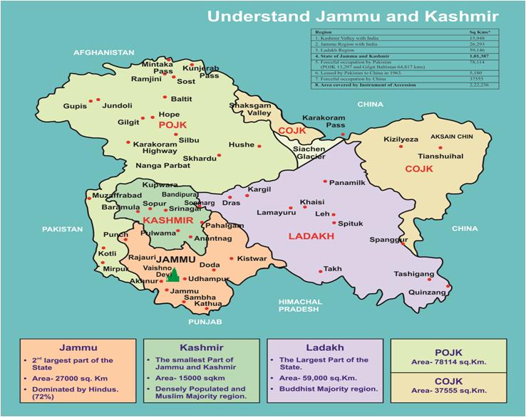 जम्मू कश्मीर का गिलगित-बल्तिस्तान क्षेत्र