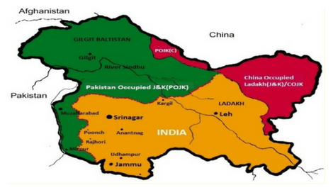 Why China Occupied Jammu and Kashmir not in deliberations?