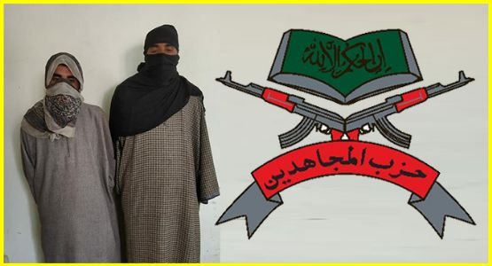 Hizbul Mujahideen terror Module busted in J&K, 2 arrested