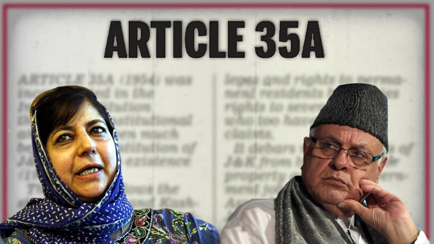Article 35A  - The Raw Nerve creating flutters in Jammu Kashmir