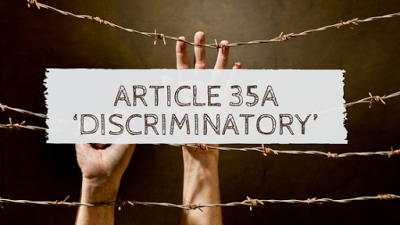 A DANGEROUS PRECEDENT - ARTICLE 35A