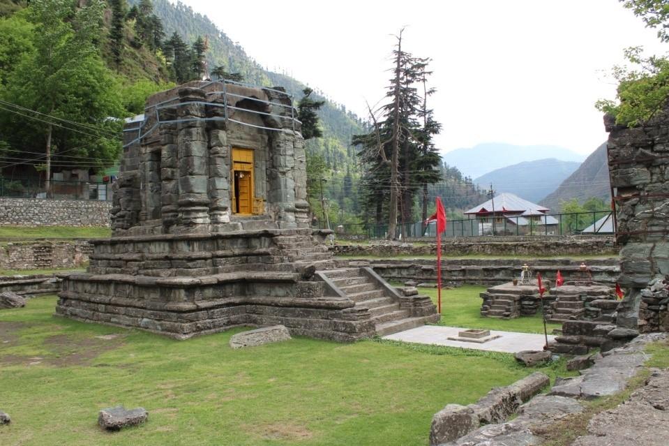 स्थापत्य कला का अनूठा उदाहरण है देथा मन्दिर