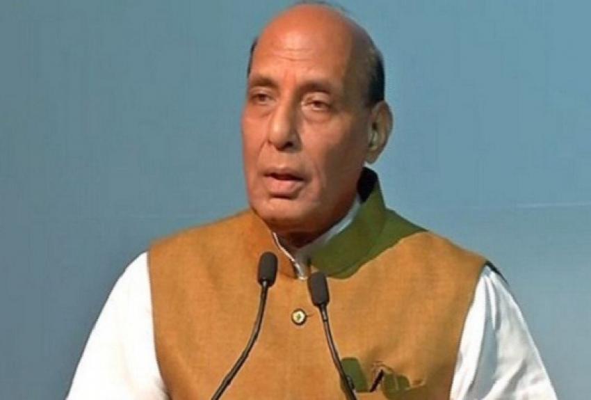 जम्मू कश्मीर हमारा था और रहेंगा - केंद्रीय गृहमंत्री राजनाथ सिंह