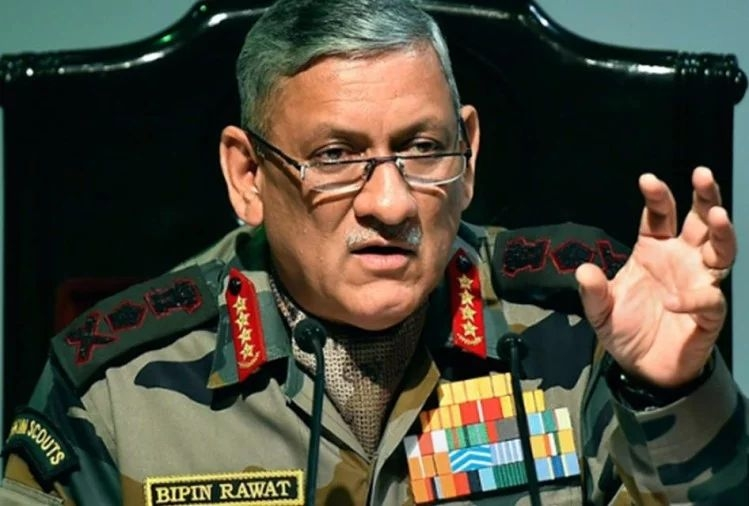 सेनाध्यक्ष विपिन रावत की पत्थरबाज युवकों को सख्त चेतावनी