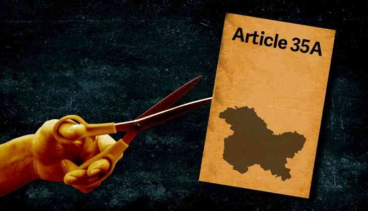 अनुच्छेद 35(ए) की वैधता को चुनौती
