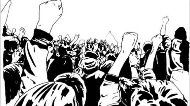 गांदरबल में विद्युत विभाग के खिलाफ प्रदर्शन जारी