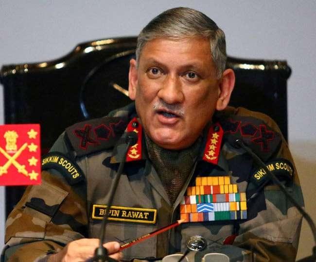 दोषी होने पर मेजर गोगोई पर सख्त कर्रवाईः सेना प्रमुख