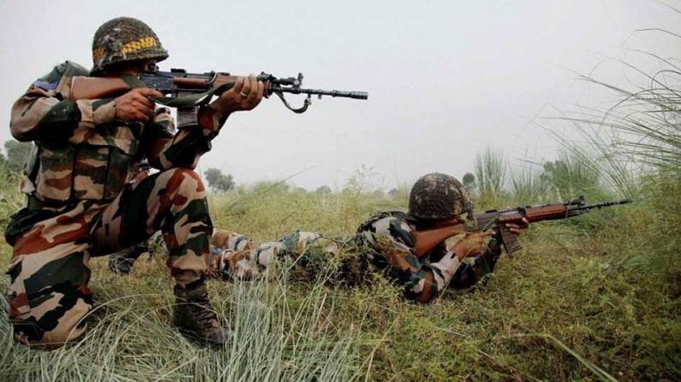 सेना ने सीमा पर घुसपैठ की कोशिश करते 5 आतंकियों को मार गिराया