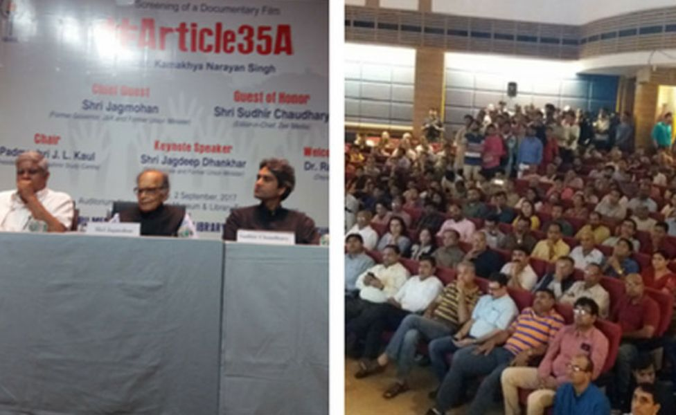Article 35A still has exceptional resonance in J&K