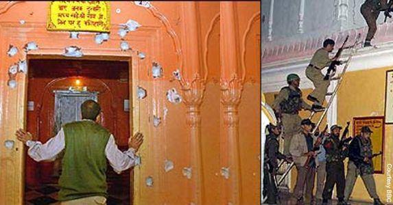 24 Nov, 2002 Raghunath Temple Massacre: An Attack on Faith by Planned and Organized secessionist terrorism