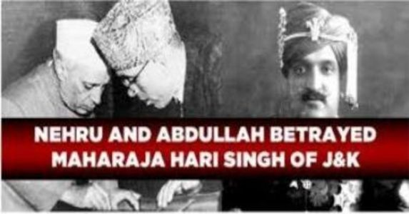 5th March; 1948, Sheikh's Coronation in J&K was done at the behest of Delhi