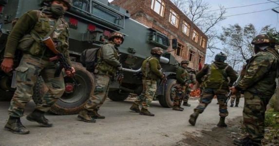 2 terrorists killed in ongoing gunfight with security forces in Kulgam