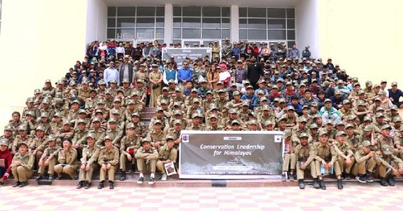 NCC Cadets of Ladakh trained as future conservation Leaders, WWF conducted training program