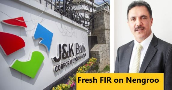Crackdown continues on J&K Bank Scamsters, ACB registers FIR former J&K Bank Chairman Parvez Ahmed Nengroo