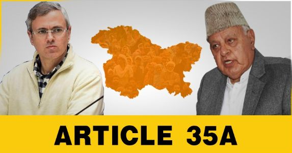 Will National Conference stop dragging legal question on Article 35A in to political controversies?