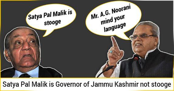 Jammu Kashmir – Fake narrative of A.G Noorani Vs Reality.