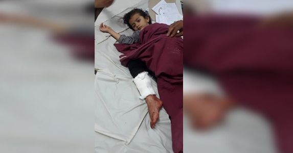 2Yrs Old Asma shifted to AIIMS, Including Asma 4 were injured in terrorist attack in Sopore, Human Rights activist go mum