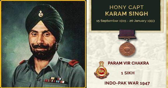 Remembering PVC L/Nk Karam Singh of 1 SIKH – The 'dauntless' leader of men in crisis
