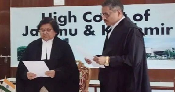 Justice Rajnesh Oswal becomes first Judge of the J&K High Court to take oath under the Indian Constitution
