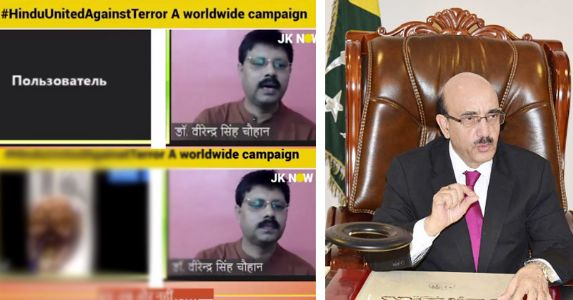 Irked by India's anti-terror campaign, Pakistan hijacks LIVE session: POJK President plays a snooper