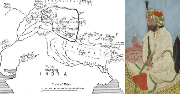 16 September 1842, Treaty of Chushul; History of Dogra–Tibetan War