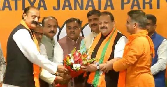 Rana's joining BJP is a huge loss for NC in Jammu
