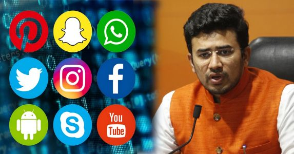 Tejasvi Surya wants change in IT laws for effective regulation of SM platforms