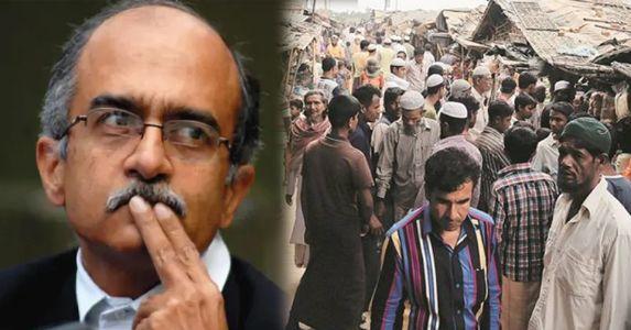 Prashant Bhushan tries to turn 'pretentious' messiah to the Rohingyas; files SC petition to stop Rohingya deportation from Jammu