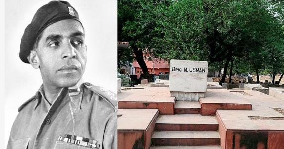 #BirthdayAnniversary Special : Brigadier Mohammad Usman MVC