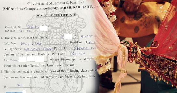 J&K govt rolls out process of amending domicile certificates paving way for spouses of native women for permanent residency