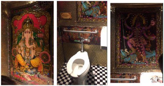 USA: नाइटक्लब के टॉयलेट में लगी थी हिंदू भगवानों की तस्वीर, फिर देखिए एक भारतीय महिला ने क्या किया !!