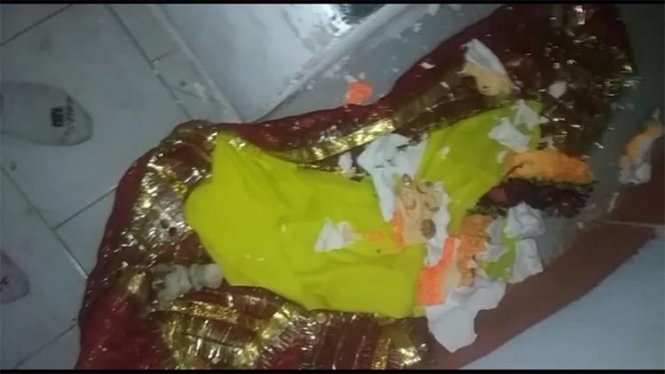 किश्तवाड़ के शालीमार शिव मंदिर में तोड़फोड़, शिवलिंग और अन्य मूर्तियां खंडित