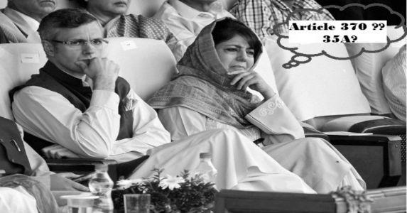 धारा 370 और 35A का जम्मू कश्मीर के अधिमिलन से कोई लेना-देना नहीं है, जनता को गुमराह कर रहे हैं उमर अब्दुल्ला और महबूबा मुफ्ती