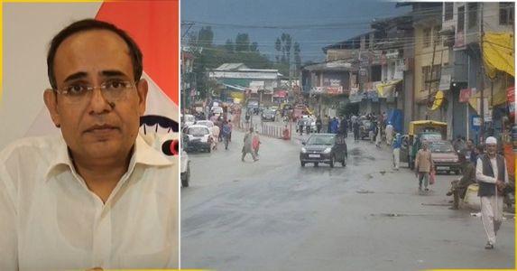 कश्मीर घाटी में सड़क पर लौटी जिंदगी, सड़क और टेलीफोन लाइन पर हेवी ट्रैफिक, लेकिन हालात सामान्य