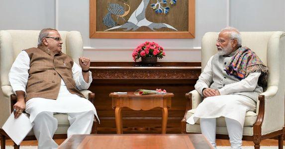 J&k राज्यपाल सत्यपाल मलिक ने प्रधानमंत्री नरेन्द्र मोदी से की मुलाकात, जम्मू-कश्मीर के हालात की जानकारी दी