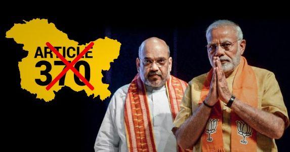 अनुच्छेद 370 और भारत सरकार की सफलता का राज़