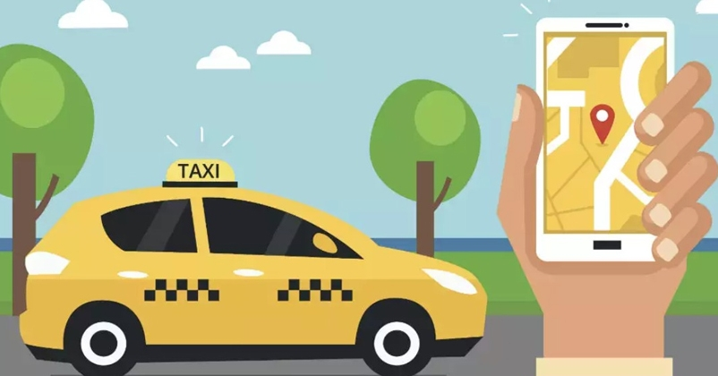 App based taxi service wi