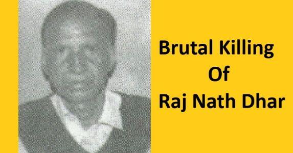 30 जून 1990 श्रीनगर, इस्लामिक आतंकियों से बेखौफ़ एक रिटायर्ड बुजुर्ग और उनकी नृशंस हत्या की कहानी #KashmiriHinduExodus