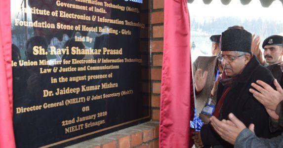 पीएम नरेंद्र मोदी के नेतृत्व में जल्द पूरा होगा संपूर्ण जम्मू-कश्मीर का विकास कार्य – केंद्रीय मंत्री रविशंकर प्रसाद